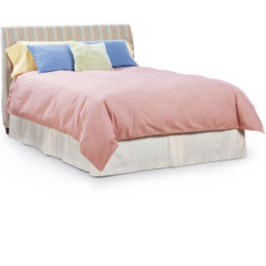 Picture of C36-50H SLIPCOVERED QUEEN HEADBOARD W/ RAILS